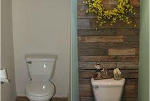 reclaimed wood walls / by Jessica Kephart