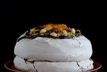 sweets: meringue