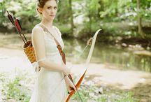 BEZ BEZY ślubne Inspiracje / sesja ślubna -Robin Hood / http://bezbezy.pl/
