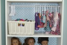 american girl doll storage