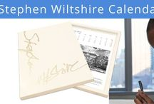 The Stephen Wiltshire 2017 Calendar / Stephen's richly illustrated 2017 Calendar portrays a unique selection of his recent works. From historic landmarks to images that capture the buzz of the city, Stephen's distinctive style and amazing eye for detail shines through every page. The calendar also showcases highlights of his career spanning over 37 years.