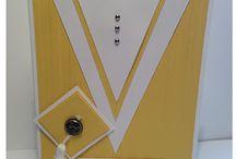Graduation Cards / Homemade greeting cards for graduations.