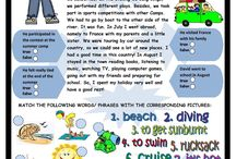 Summer holiday worksheets