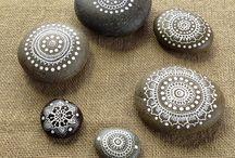 Handmade, kamienie, stone