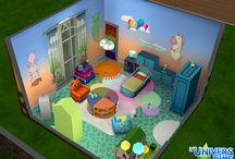 Pièces Sims 4