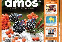 AMOS 03/2015 PODZIM / Třetí číslo časopisu s podzimními nápady www.tvorivyamos.cz