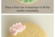 Galletas decoradas / Azúcar glaas