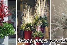 Floreros para decorar en navidad - Vases to decorate for Christmas