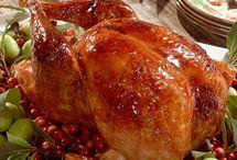 курица на стол