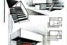 Architectual Sketches and Drawings
