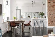 Apartamento nordico eclectico / Este apartamento utiliza el color y la textura para llegar a conseguir el estilo nórdico ecléctico.