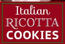 Italian ricotta cookie