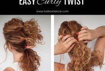 penteados básicos e bonitos