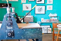 s is for studio / The inspiring spaces of makers from around the world. Studio envy - it's a real thing.