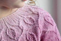 Pletené svetre // knitted pullovers
