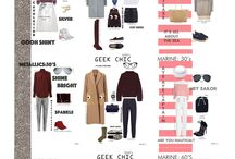 STYLING BOARDS / Trends and Styling Boards Made by Fashiontelligent aka Deniz Ç