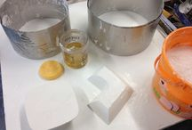 Heather Mae Erickson Ceramic Design Process Images / Plaster Mold Making, Slip Casting, and Form/Surface Design.