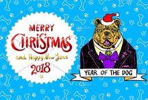 Dog is symbol of 2018 year