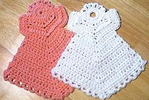 Crocheted -- Angels