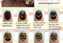 Hair, nails & face / by Leah Rachel