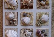 manualidades con caracoles
