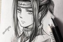 Naruto in pencil