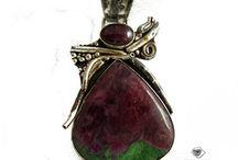 EPIR_pendant, gemstone in silver
