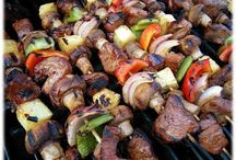Kabobs / Yummy on the grill !  / by Debra Russell
