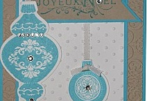 Cartes de Noël - Nouvelle année / Si vous chercher des idées de cartes pour Noël ou la nouvelle année, j'espère que vous trouver l'inspiration avec ces créations...