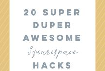 Squarespace Tips + Tricks / All the info you could ever need about Squarespace