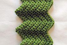 Crochet - stitches/borders