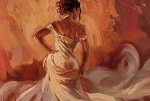 Les peintures!!!! / by Diem
