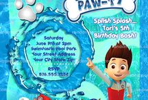 Paw patrol Pool Party