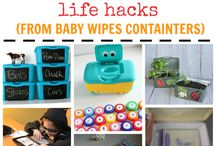 Organization Hacks / How to get organized around the home, organize the family or simply live with less stuff! / by Holly Homer