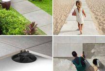 Bazénové a venkovní dlažby / Představujeme nabídku keramických dlažeb v tloušťce 20mm. Použití je podle obrázků všestranné a i jednoduché.