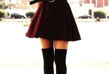 Over-the-knee-socks-outfits