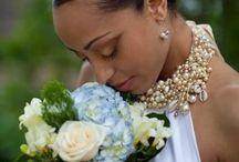 Wedding up do afro hair
