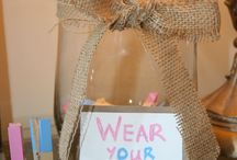 Gender reveal party / by Paige Bartholic