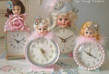 vintage clocks / by WHITNEY OBRIEN