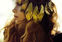 I want a hat with feathers on it / I am IN LOVE with Native American ANYTHING! / by Heather Pilarczyk
