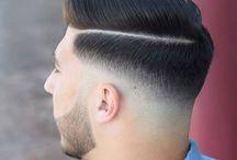 Fade-Haarschnitt