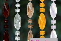 rideau de porte en perle