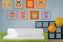 Eulen | Owls / Du liebst sie? Deine Freundin liebt sie? Wir lieben sie! Alle lieben die niedlichen #Eulen mit Ihren großen unschuldigen und zugleich achtsamen Augen. Bring die #Eule in dein Zuhause mit #Bilderwelten.de
