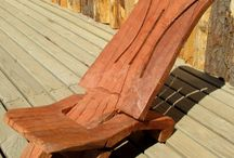 Chilean Indigenous Design  Chairs - no nails, screws or glue / Native design chairs
