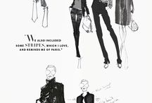 FASHION SKETCHES AND ILLUSTRATIONS