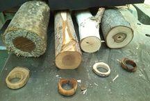 drevené prstene