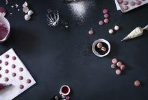 macaron e meringhe