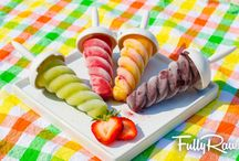 Popsicles / Grain-Free, Dairy-Free, Soy-Free, Refined Sugar-Free