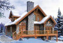 cabin sweet cabin / Living the dream!