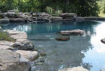 natural pools / Man made natural looking pools
